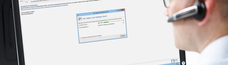 NoSpamProxy Large Files ermöglicht das Versenden großer Dateien.