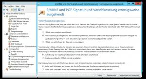 NoSpamProxy Encryption Konfiguration