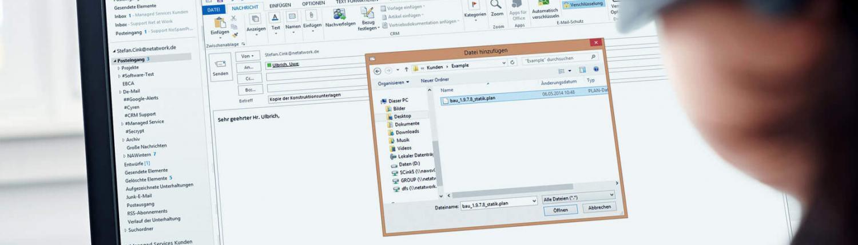 Screenshot NoSpamProxy GUI Überblick - E-Mail-Sicherheit
