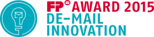 FP Award 2015 DE-Mail Innovation