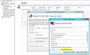 Screenshot Realtime Blocklisten