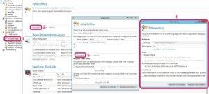 Inhaltsfilter Filtereintrag