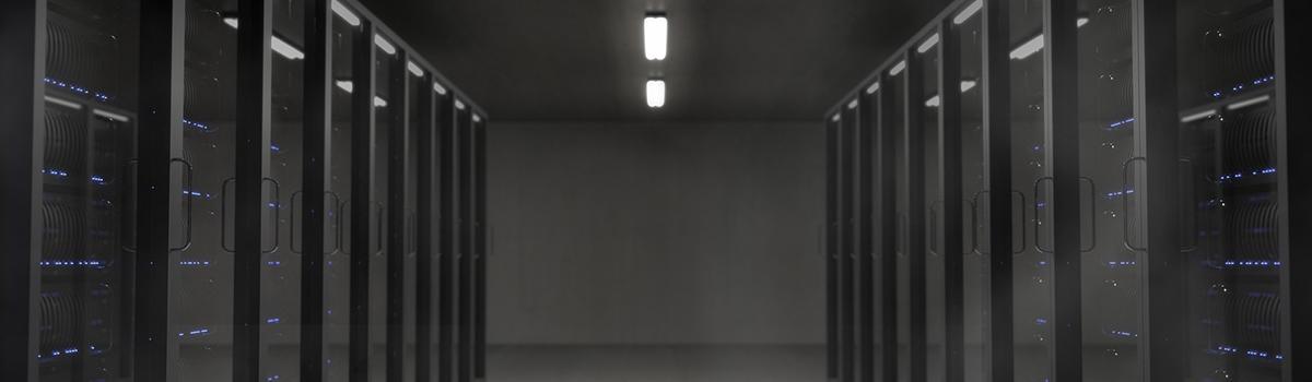 Rechenzentrum Serverraum