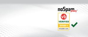 Slider NoSpamProxy Virus Bulletin Test