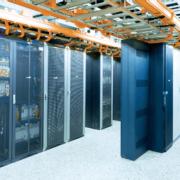 Blick in das KRZ Rechenzentrum mit E-Mail Security Gateway