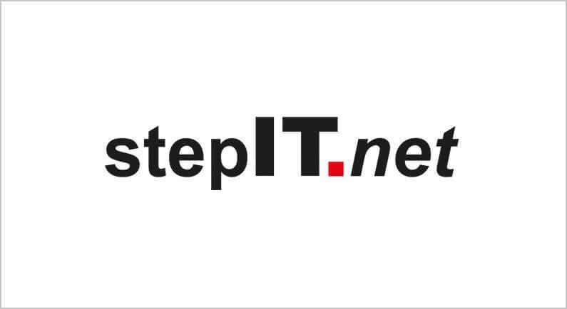 Logo stepIT GmbH